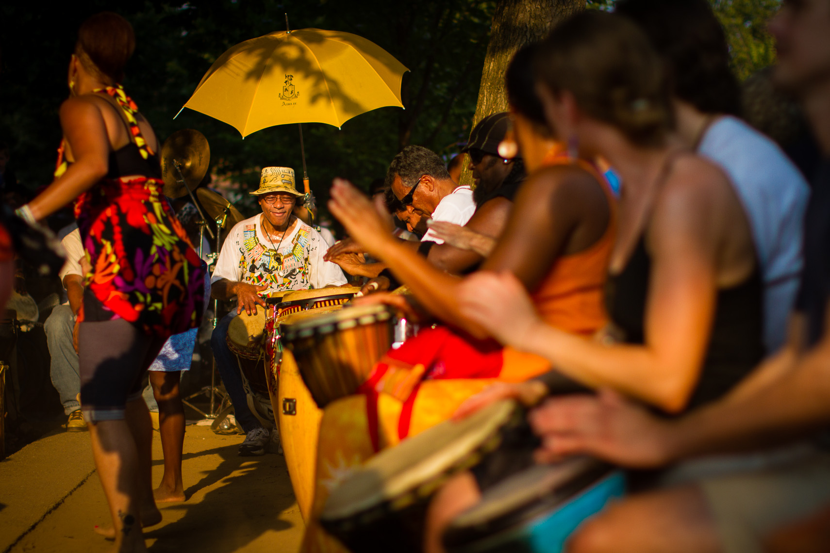 Meridian Hill Sunday African Drum Circle